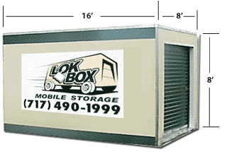 16ft LokBox Storage Containter